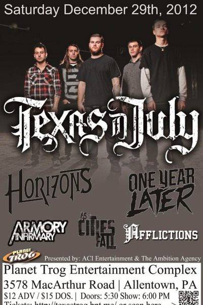 Texas In July - Planet Trog