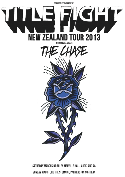 Title Fight - New Zealand Tour 2013