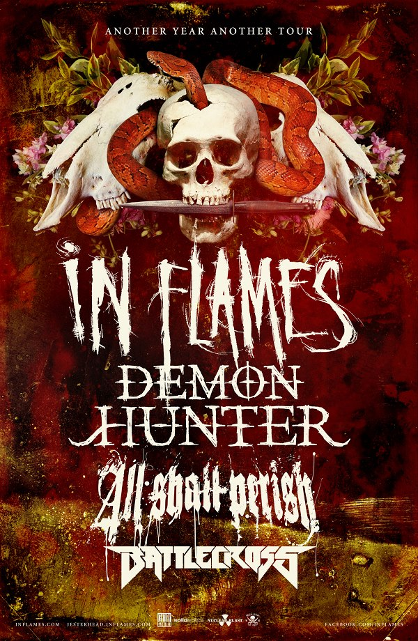 In Flames - Another Year, Another Tour 2013