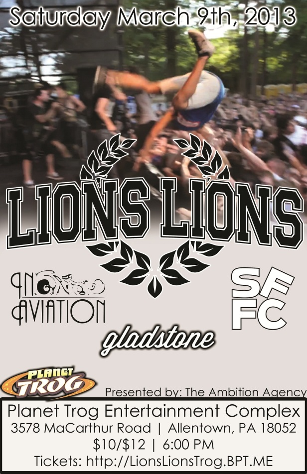 Lions Lions - Planet Trog