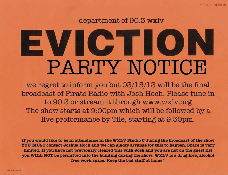 Eviction Party - WXLV