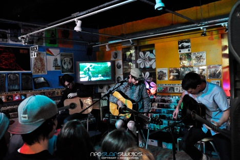 Man Overboard - Siren Records In-Store performance - Heart Attack Release