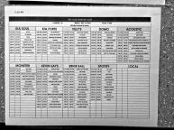 Warped Tour // Camden Schedule © 2013 Henry Chung