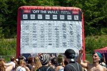 Blow Up Schedule - Warped Tour // Scranton