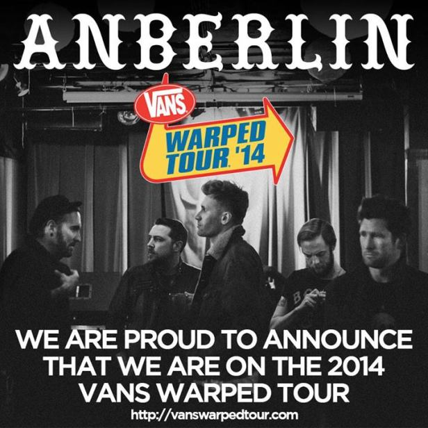 Anberlin - Warped Announcement