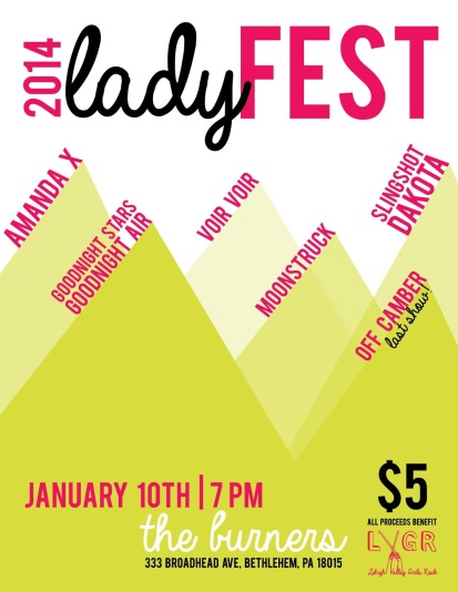 LV LadyFest 2014