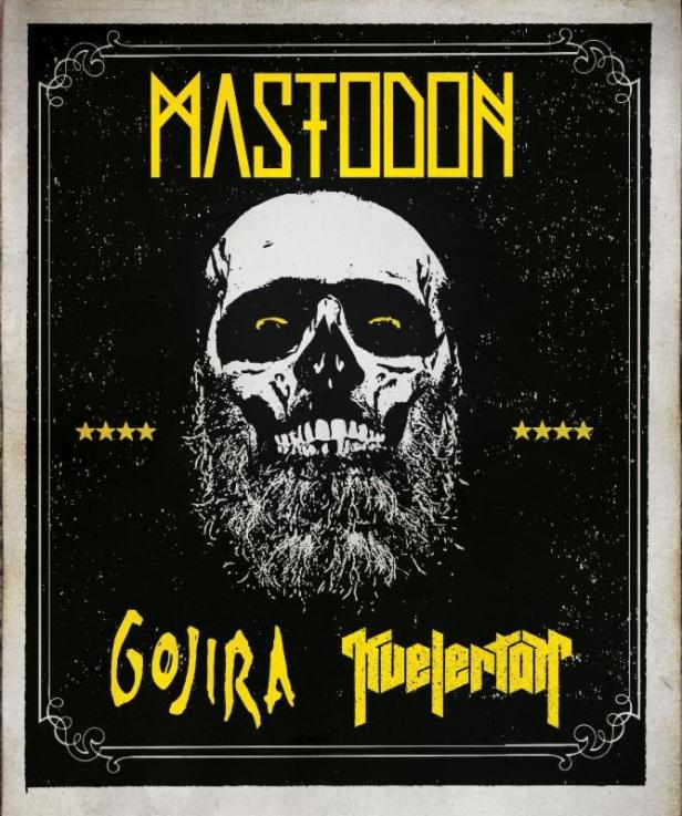 Mastodon - Spring Tour 2014