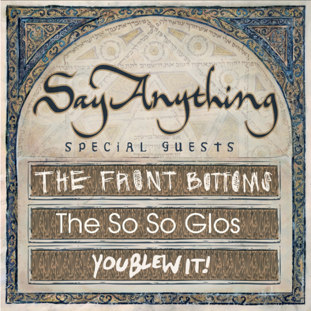 Say Anything - Summer Tour 2014