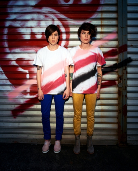Tegan and Sara -spraypaintweb
