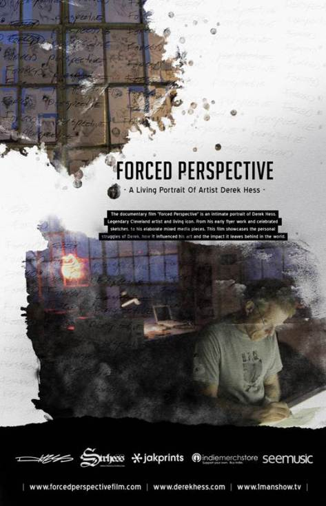 Derek Hess - Forced Perspective