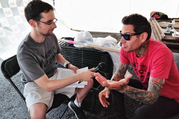 Mike Herrera - wxlv interview ©2014 Henry Chung