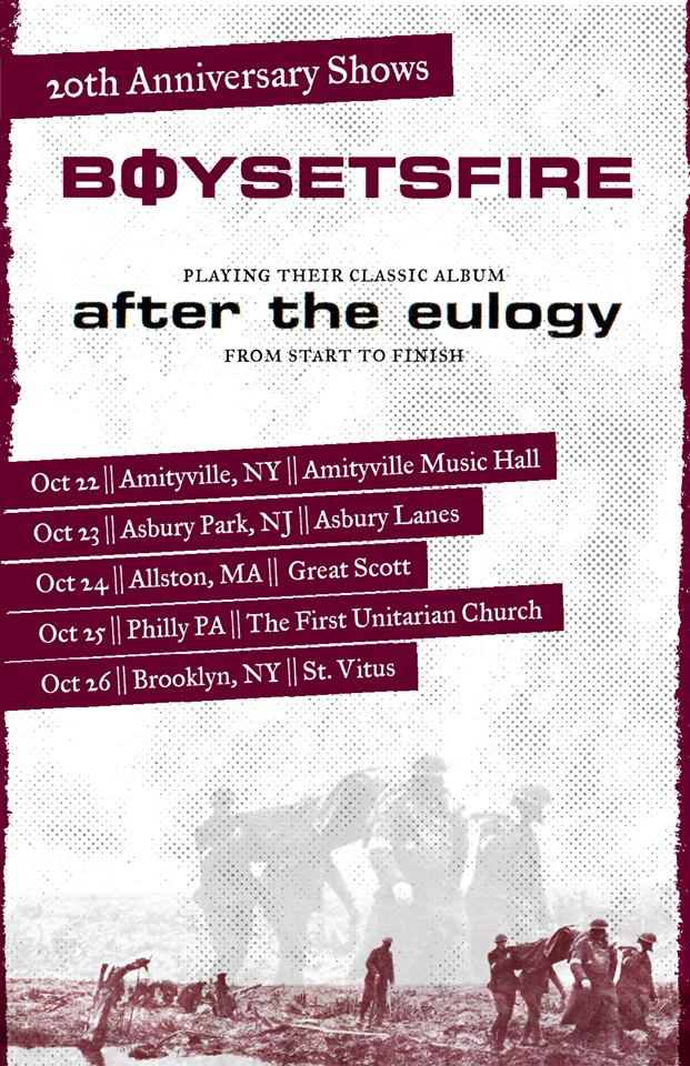 BoySetsFire -After the Eulogy tour