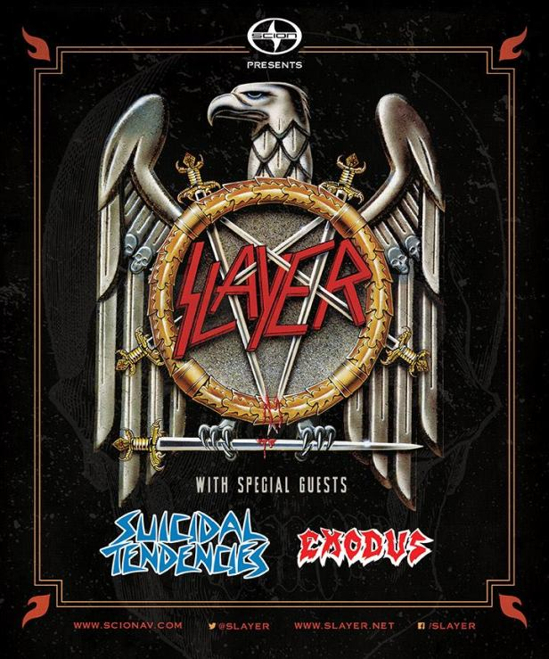 Slayer Tour 2014