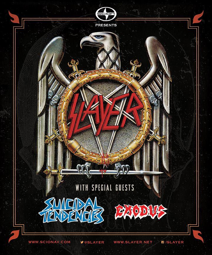 Slayer Tour 2014