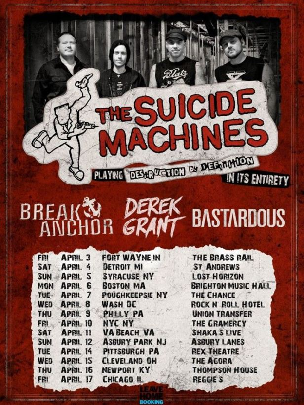 The Suicide Machines - Destruction Tour
