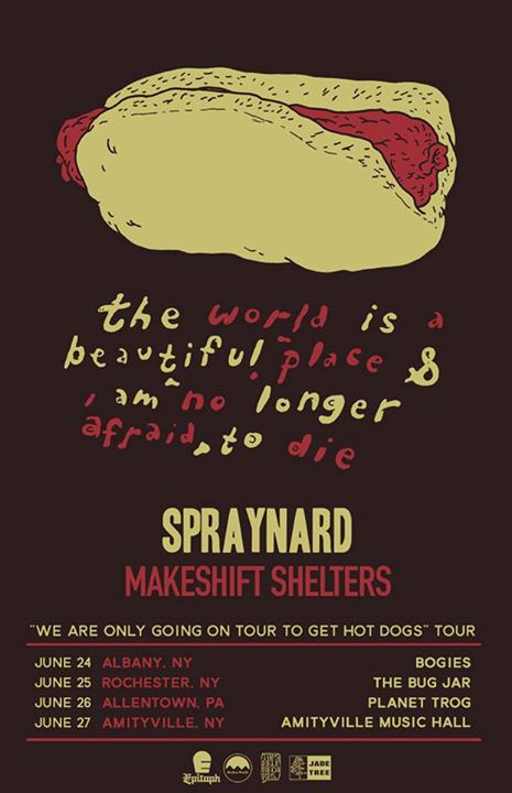 TWIABP - Hot Dogs Tour