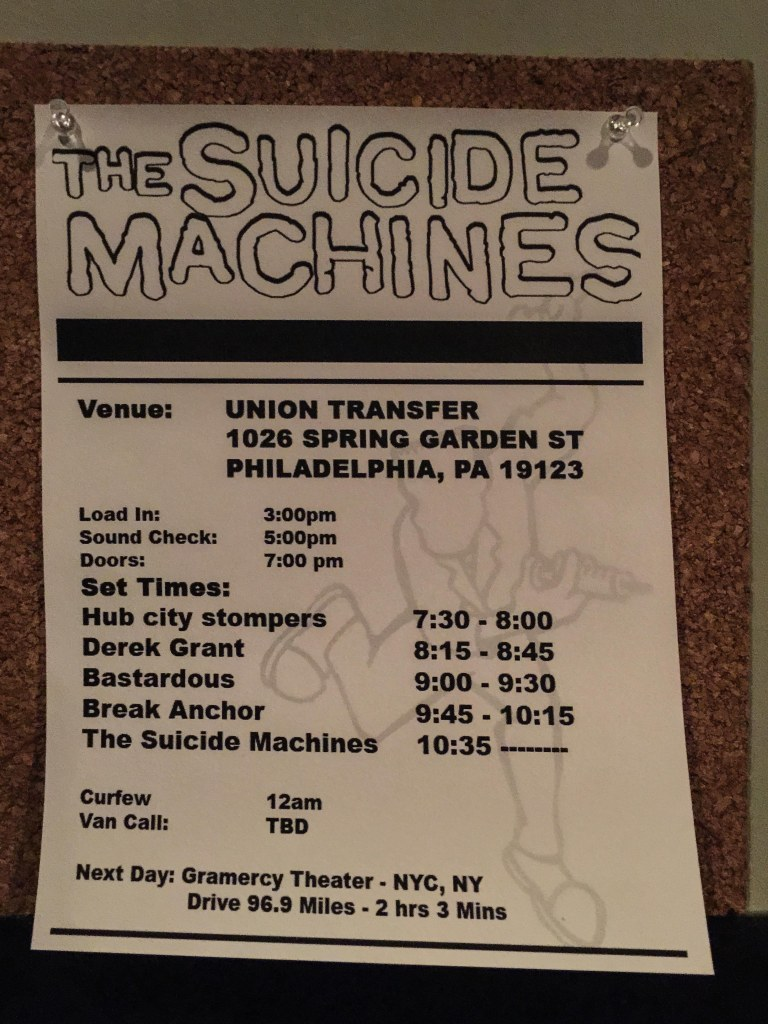 The Suicide Machines - Union Transfer ©2015 Henry Chung 01