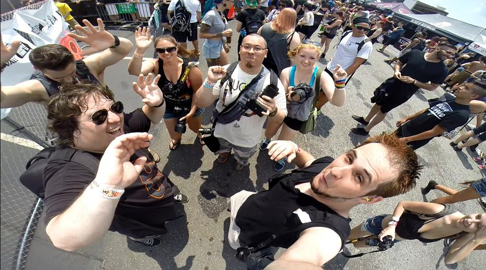 Warped Phto Family 2014- ©2014 Mike McHale