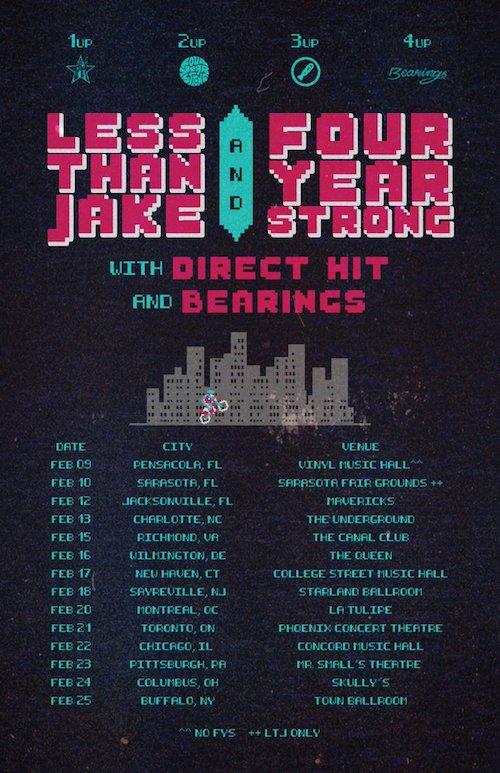 LTJ : FYS Tour