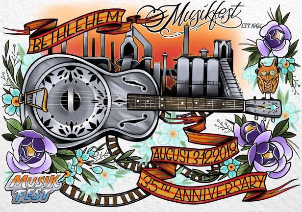 Musikfest 2018 - Poster