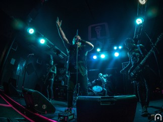 The Casualties - Photo by Henry Chung